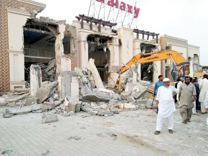 anti encroachment drive begins in capital
