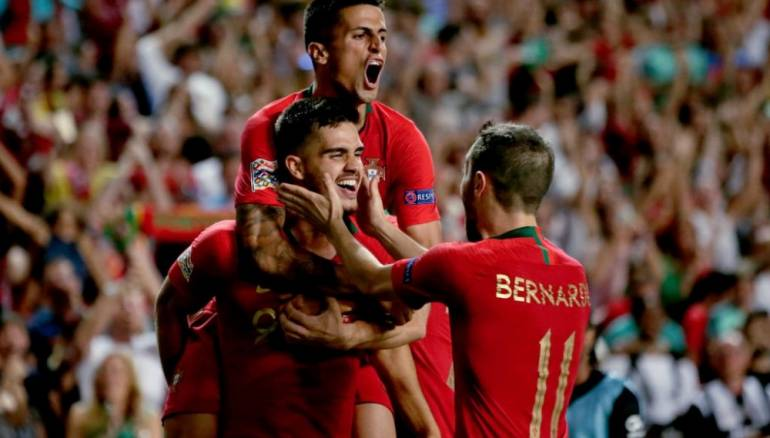 andre silva lifts portugal past italy