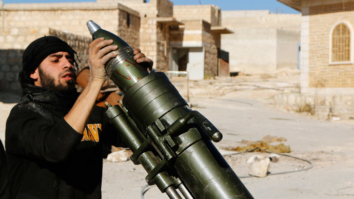 russia claims syria rebels staging chemical attack