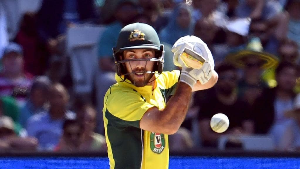 Glenn Maxwell. PHOTO: AFP