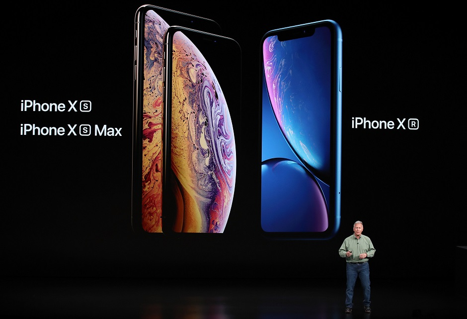 in pictures apple unveils new premium iphone xs