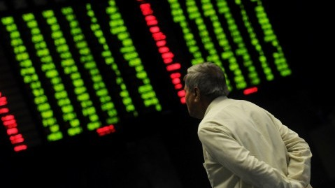 Benchmark index decreases 237.49 points to settle at 40,522.04. PHOTO: EXPRESS