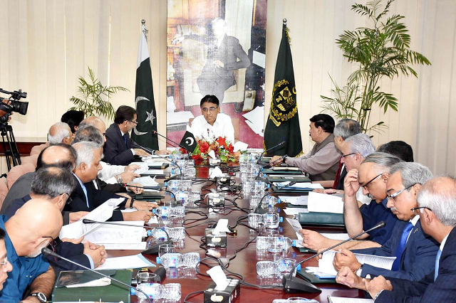 Economic Advisory Council. PHOTO: Government of Pakistan/ Twitter
