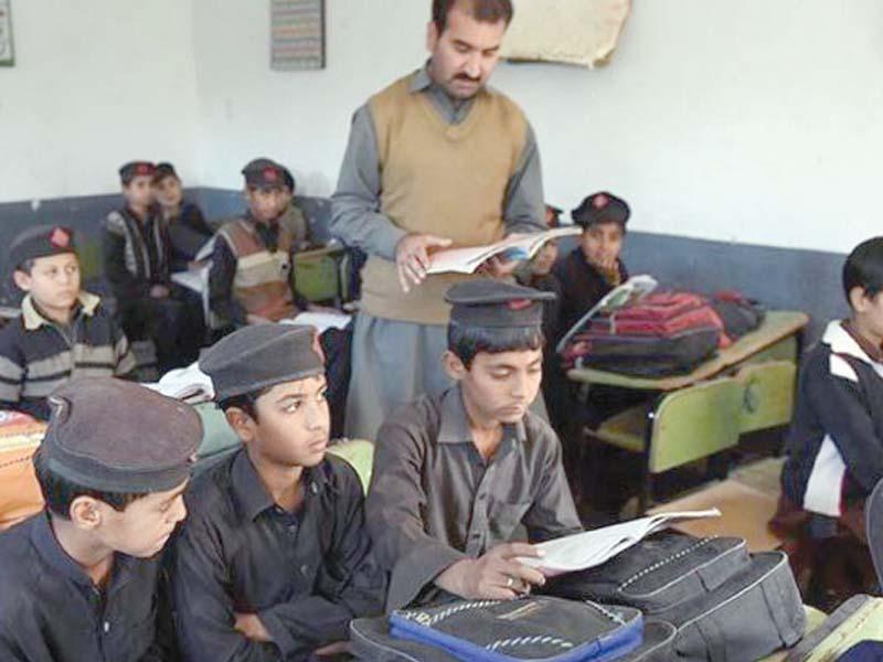k p govt teachers told to enroll their children in state run schools