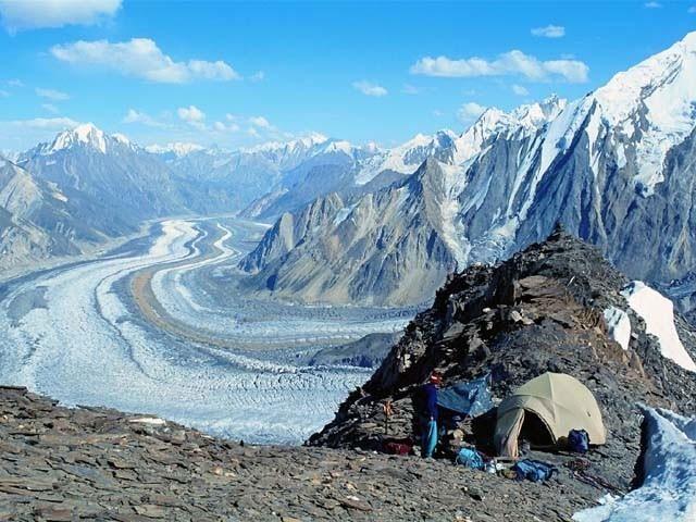 in pakistan a high mountain water pipe brings a bonus peace