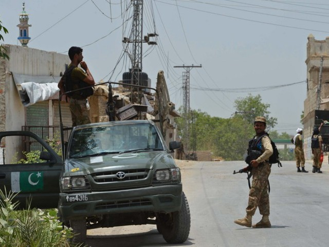 9 terrorists killed 7 soldiers martyred in north waziristan operation