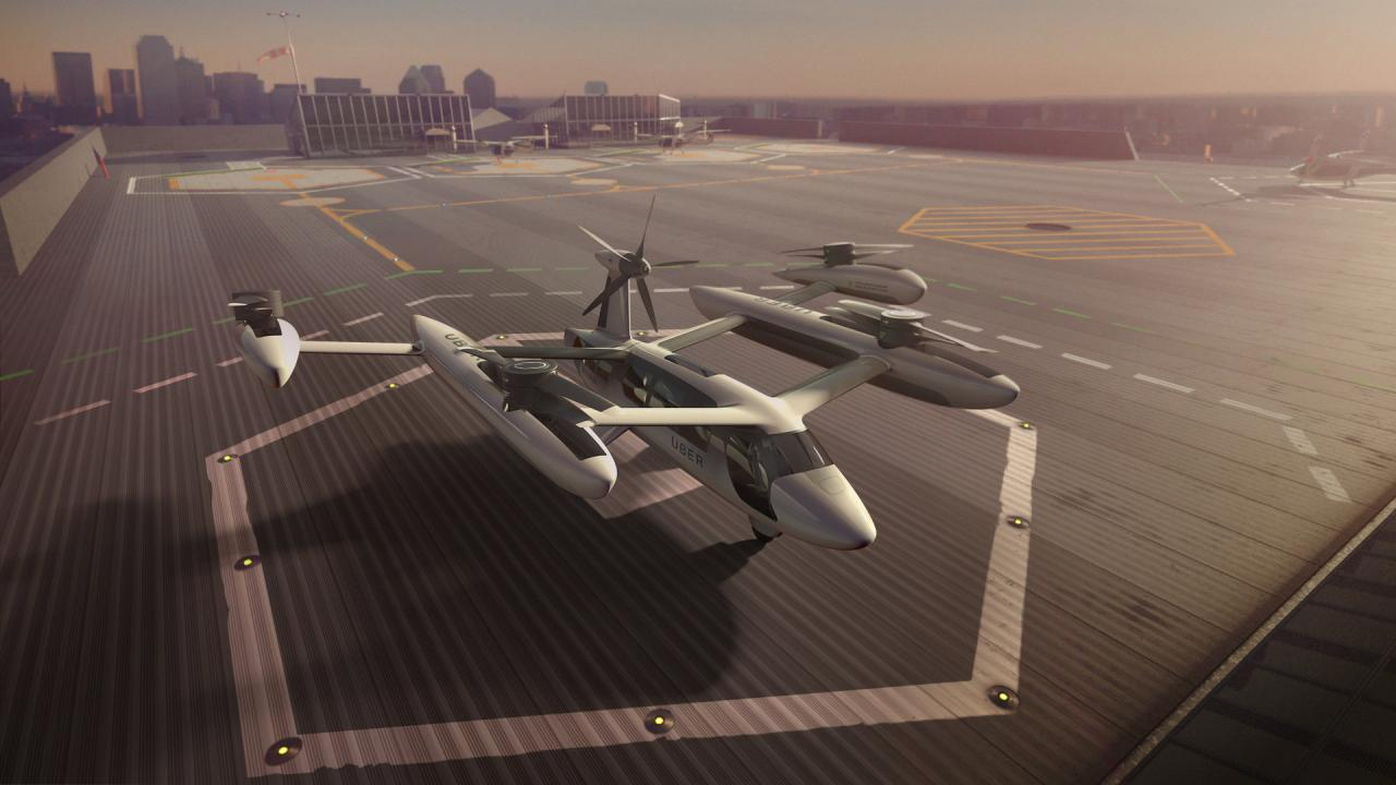 an artist 039 s rendering of the uber flying taxi concept in this handout photo reuters