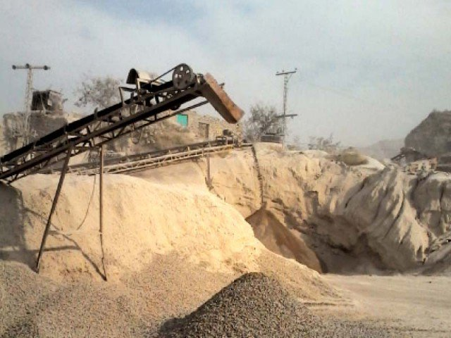 21 stone crushing plants sealed in quetta