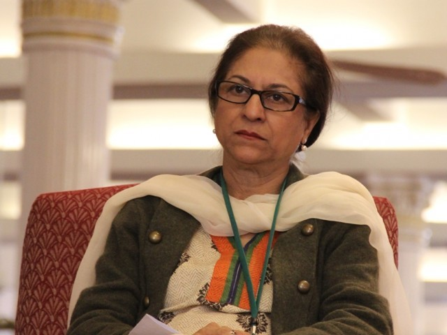 Late Asma Jahangir. PHOTO: EXPRESS/FILE