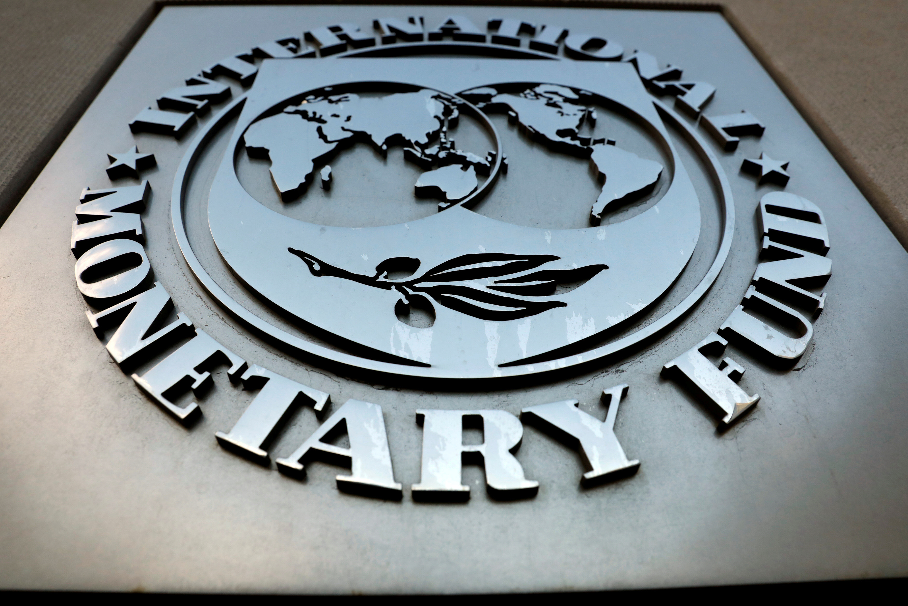 IMF sign. PHOTO: REUTERS