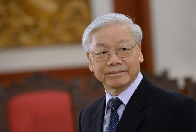 Nguyen Phu Trong will become the first person to hold the top posts of president and party leader simultaneously since Ho Chi Minh. PHOTO AFP