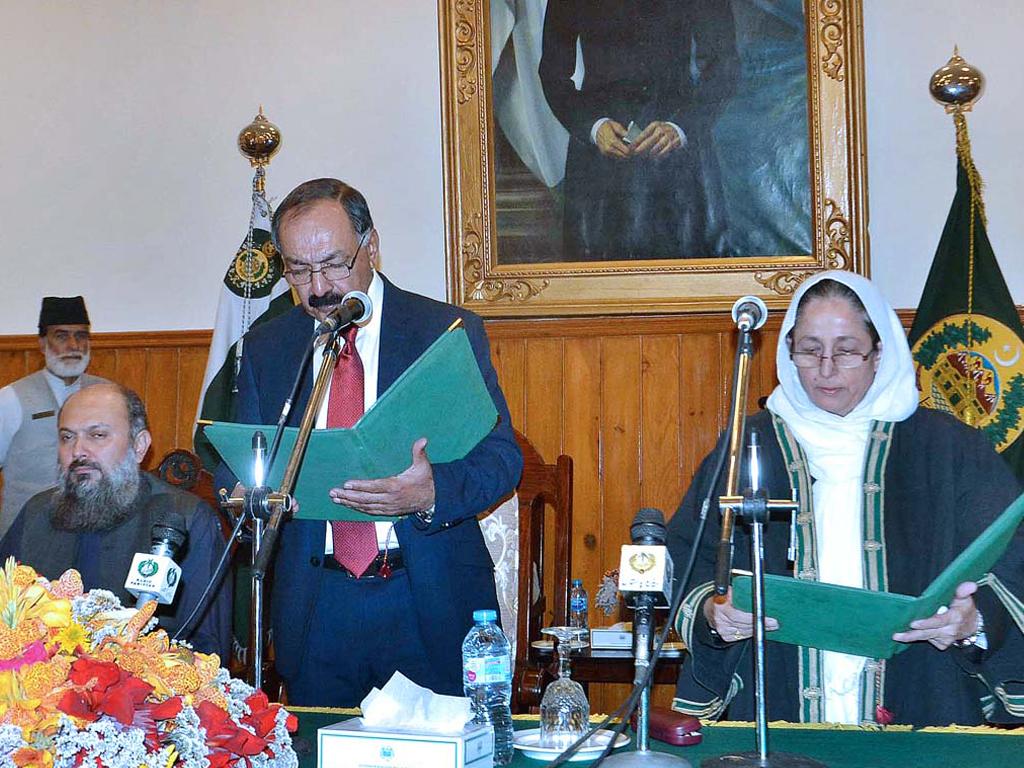 balochistan governor promises to assuage professors grievances