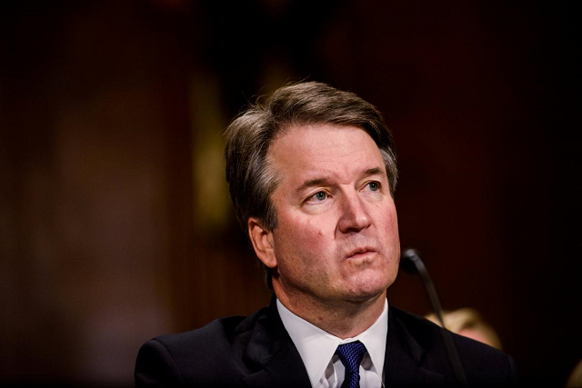 republicans aim to confirm kavanaugh on weekend protesters arrested