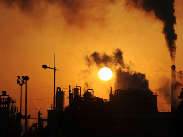 smoke spewing factories add to capital pollution
