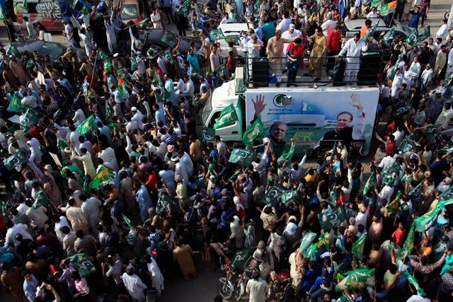 once again pml n poll drive left leaderless