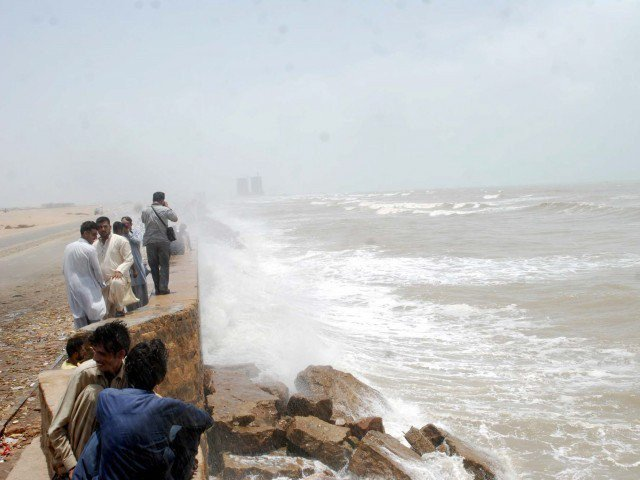 no possibility of tropical cyclone at pakistan s coastal belt met office