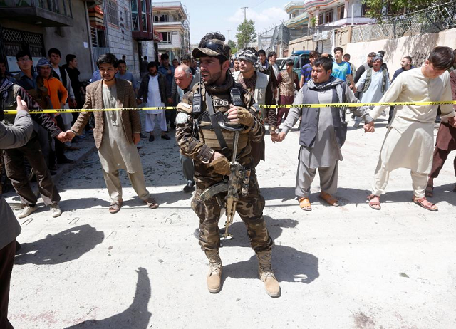 suicide bomber kills eight at afghan election rally