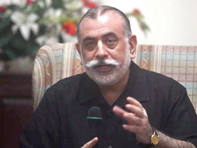 Durrani reportedly had reservations over transfer of Punjab IGP Tahir Khan. PHOTO: FILE