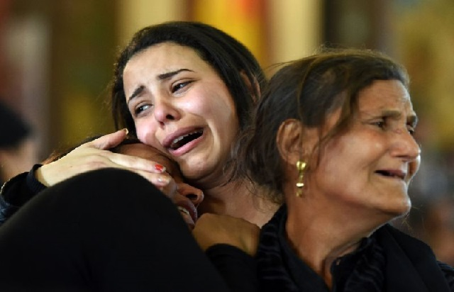 egypt condemns 17 to death for is church attacks