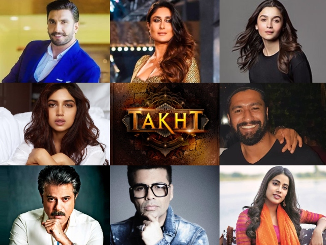 we have not distorted history with takht karan johar