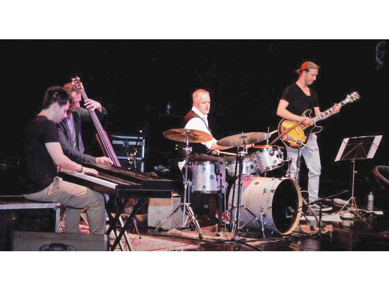 german jazz group wolfgang haffner and band performs at pnca photo express