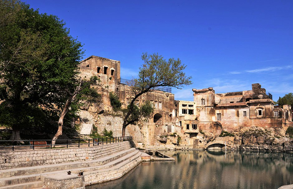govt told to refill historic katas raj temple pond