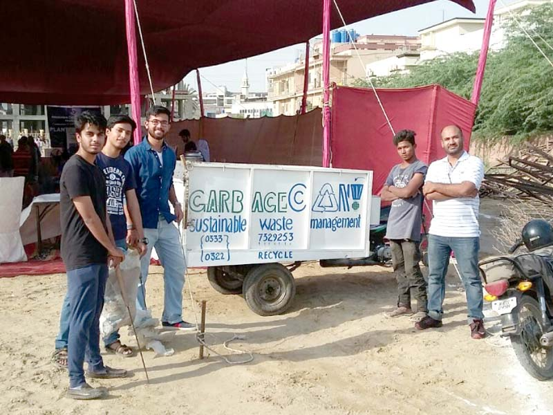 garbagecan a social entrepreneurship venture seeks to clean up neighbourhoods and raise awareness on the need to recycle waste photo courtesy garbagecan
