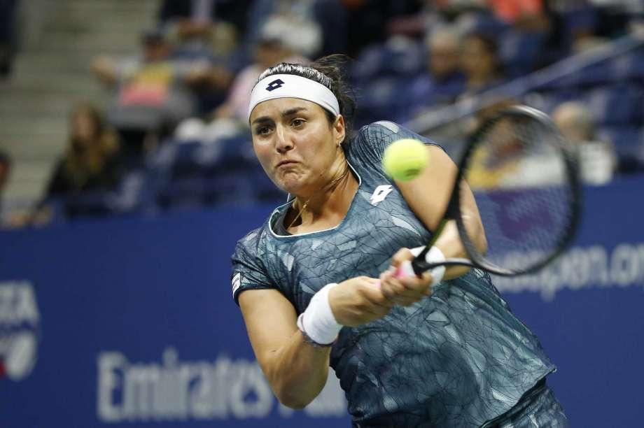 jabeur beats sevastova to reach first wta final