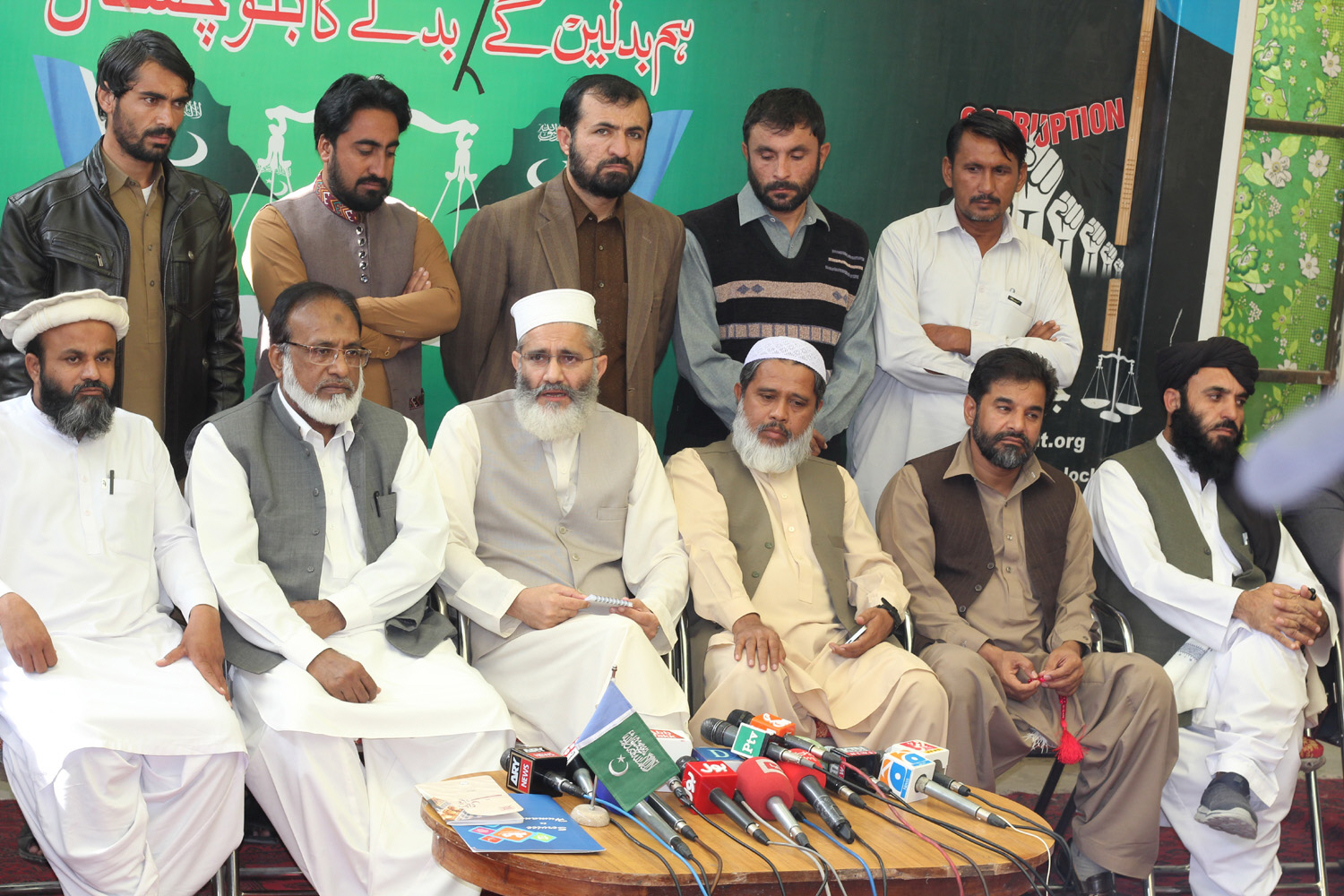 ji chief expresses dismay over govt s 60 day performance