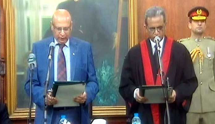 justice anwarul haq sworn in as lahore high court chief justice
