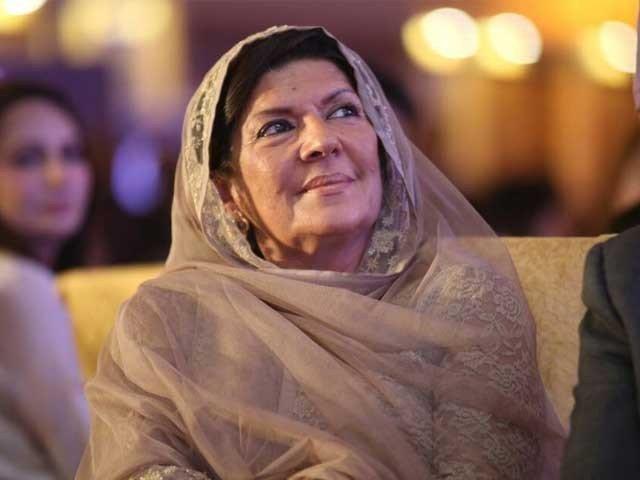 Prime Minister Imran Khan's sister Aleema Khanum. PHOTO: FILE