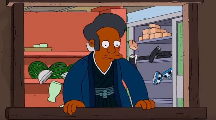 apu written out of the simpsons following racial controversy