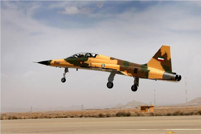 iran starts producing local fighter jet for its air force