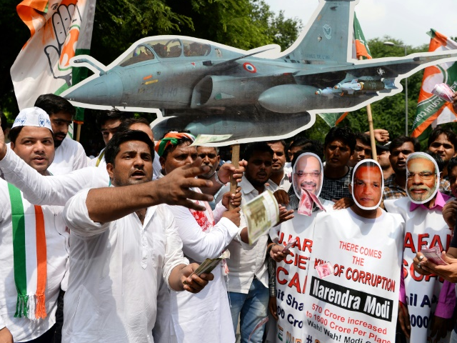 indian politician accuses french ceo of hiding truth in rafale deal