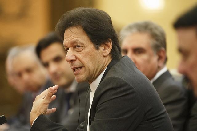 Prime Minister Imran Khan. PHOTO:AFP