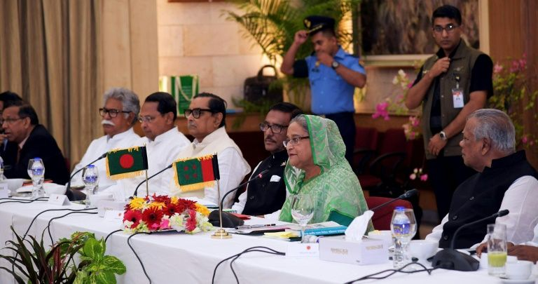 bangladesh to set election date as opposition cries foul