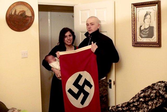 neo nazi couple names son after adolf hitler