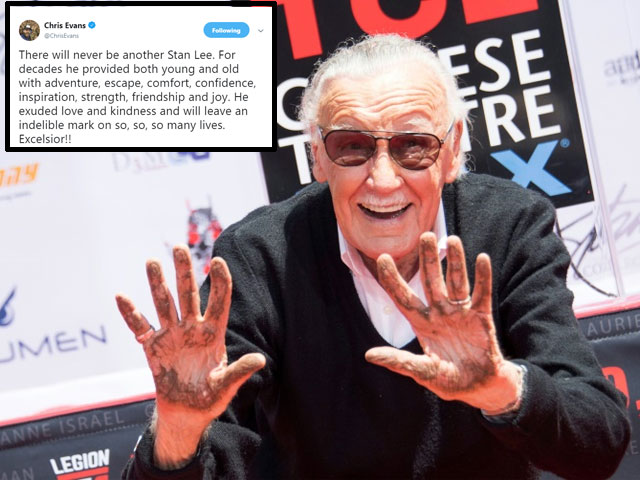 avengers assemble marvel superheroes pay homage to father stan lee