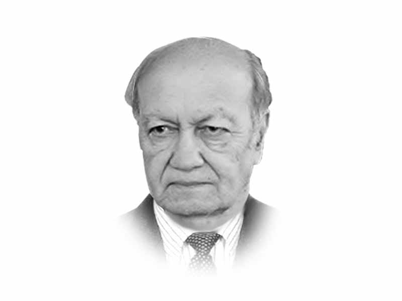 The writer is a retired lieutenant general of the Pakistan Army and a former federal secretary. He has also served as chairman of the Pakistan Ordnance Factories Board