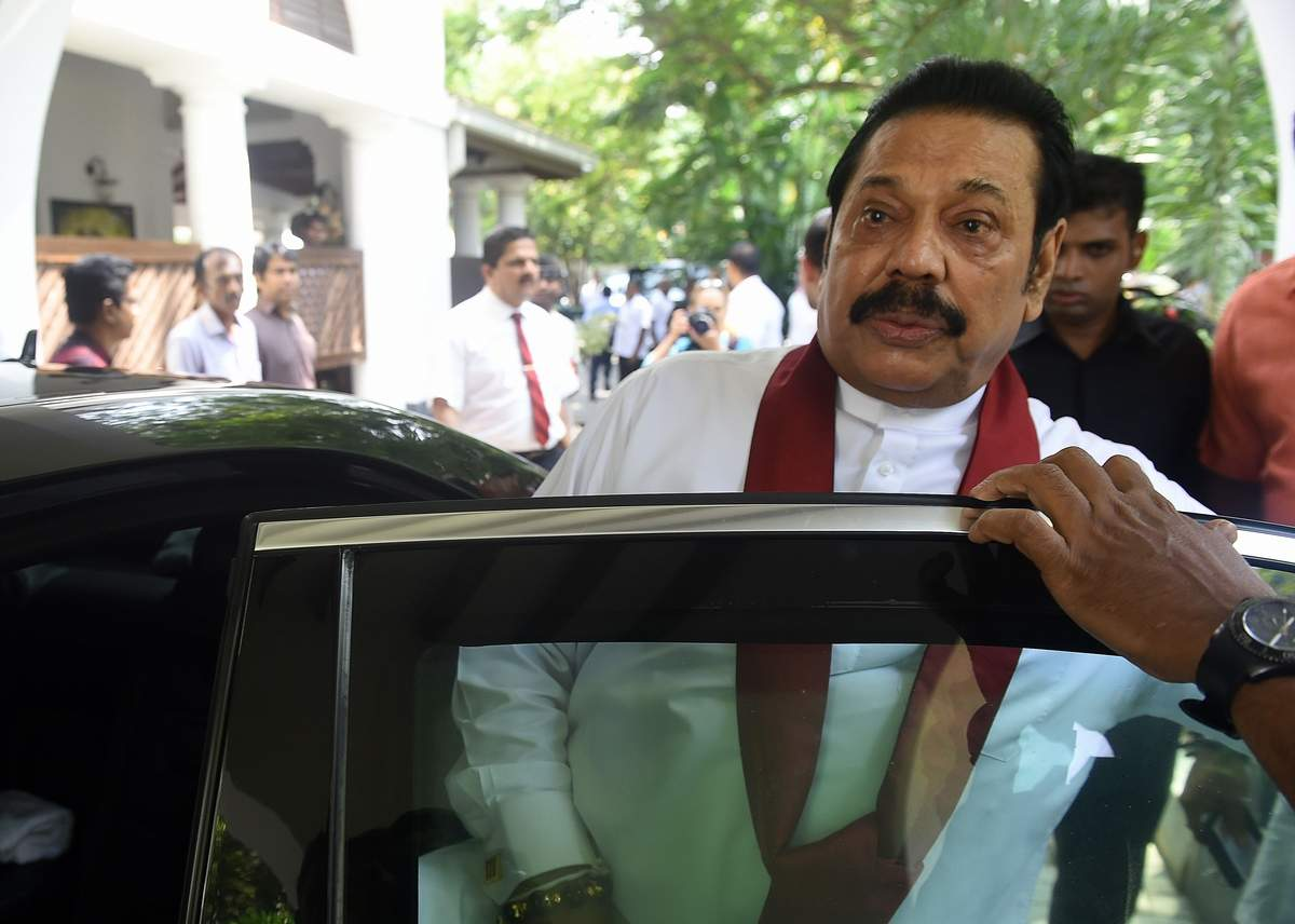 sri lanka parliament sacks rajapakse leaving power vacuum