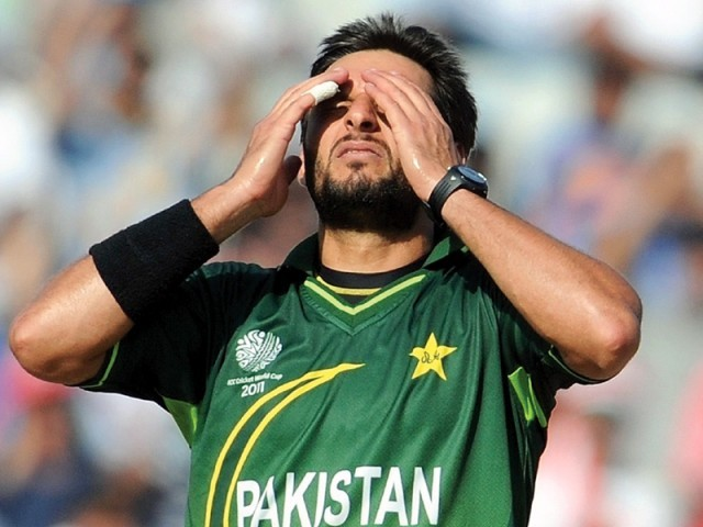cricket star shahid afridi photo afp file