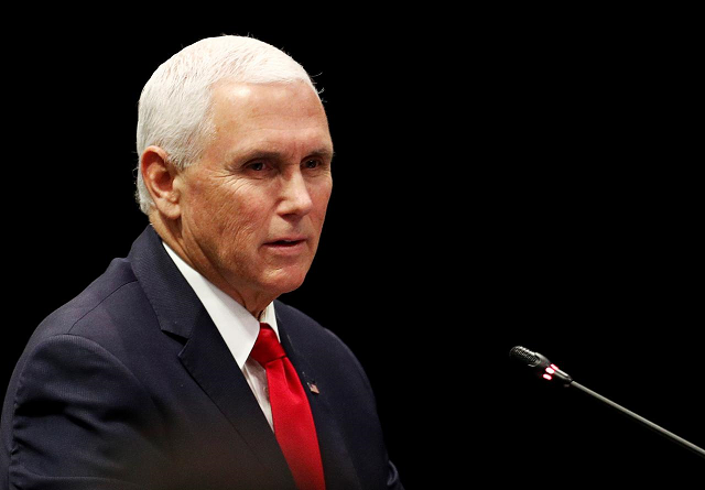 pence says empire and aggression have no place in indo pacific