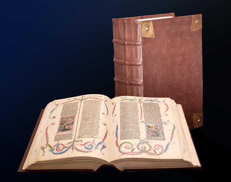 A facsimile edition of an ancient text. PHOTO COURTESY: ADEVA