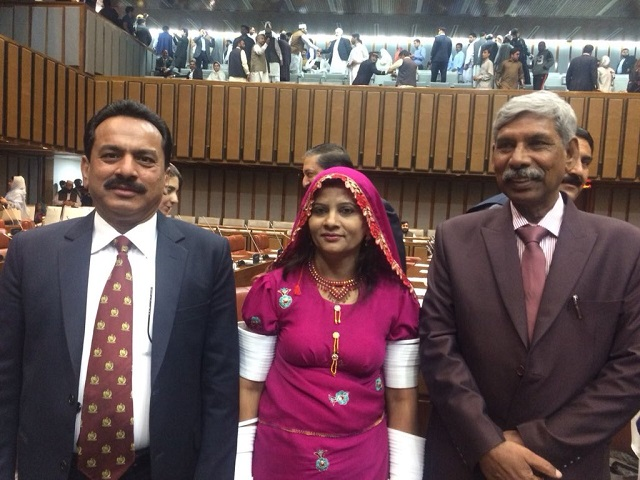 pakistan s first dalit woman mp krishna kumari makes bbc s 100 women of 2018