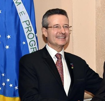 Ambassador of Brazil Claudio Raja Gabaglia Lins. PHOTO: TWITTER