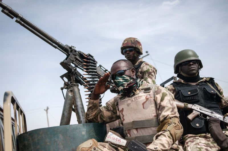 nigeria soldiers in the northeast regularly complain of insufficient supplies of food and arms in the fight against boko haram photo afp
