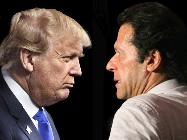 how international and local media reported imran trump war of words