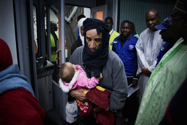 more than 15 000 migrants repatriated from libya iom