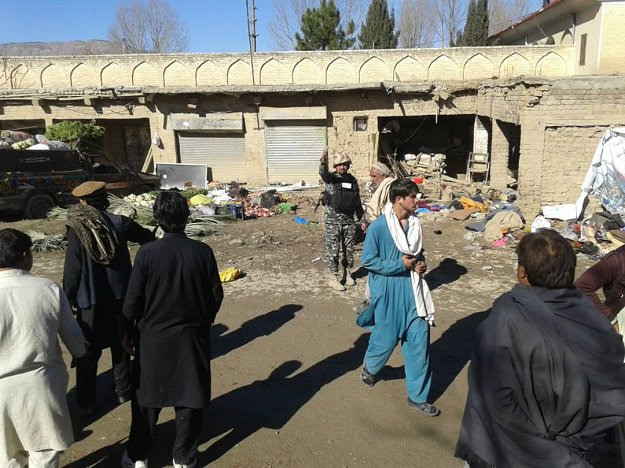 the aftermath of the orakzai blast on nov 23 2018 photo express