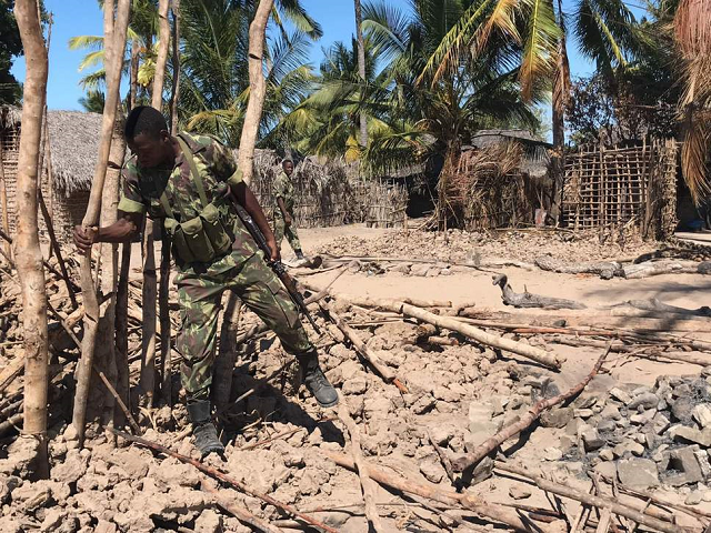 suspected militants have torched scores of homes and killed many in previous attacks near the coast in northern mozambique photo afp